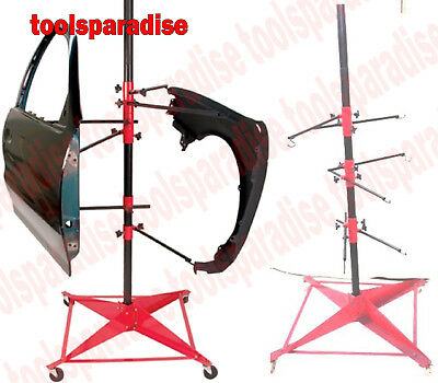 Auto Body Paint Booth Stand Painting Rack Door Hood Fender Panel Hanger Holder  sc 1 st  PicClick & AUTO BODY Paint Booth Stand Painting Rack Door Hood Fender Panel ...