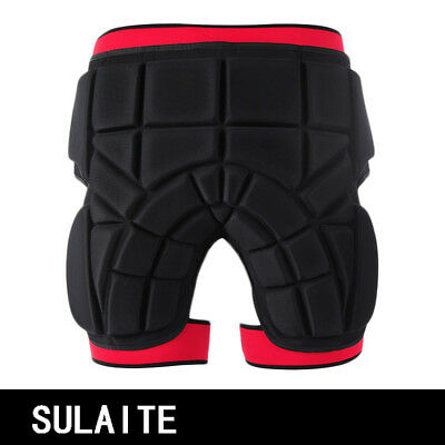 Skiing Roller Skating Protective Shorts Gear Buttocks Pad Hip Protectors