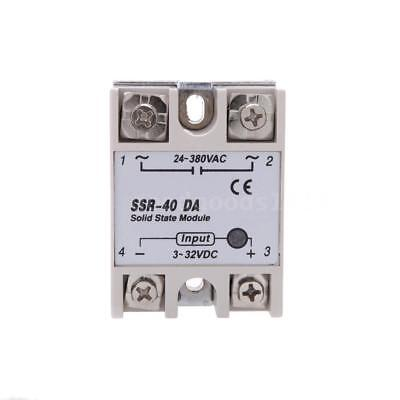 For PID Temperature Controller 24V-380V SSR-40 DA Solid State Relay Module S9G9