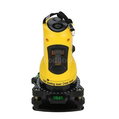 Household 2 Lines Cross Laser Level 360 Rotary Cross Line Leveling NG R8R0