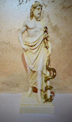 Statue Asclepius The God Of Medicine , Healing, Rejuvenation And Physicians