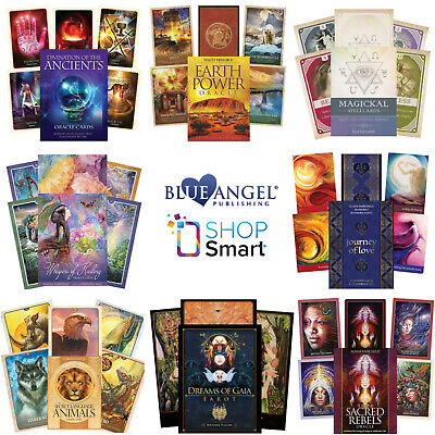 Blue Angel Oracle Cards Deck Esoteric Fortune Telling Divination New