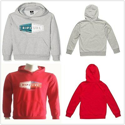 Rip Curl Boys Youth Toto Hooded Sweatshirt Fleece Pullover Hoodie Top Size 12 16