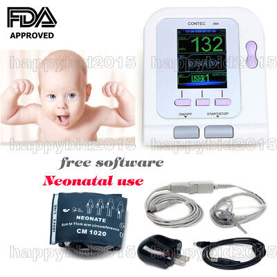 Baby use. Blood Pressure Monitor Upper Arm Neonatal use+Spo2+adapter