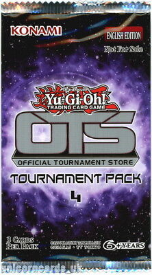 YuGiOh! OTS Tournament Pack 4 New And Sealed Booster Pack x1