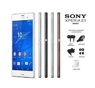 Sony Xperia Z3 D6603 16GB GB Unlocked Android Smartphone