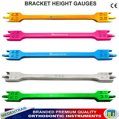Range of Dental Height Gauges Orthodontic Accurately Measure Height of Brackets