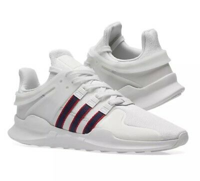 best sneakers 9aa8a dfc7c Adidas Eqt Support Advance White Navy Scarlet Mens Shoes Us11 Deadstock New  Nmd