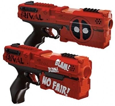 Nerf Rival Deadpool Kronos XVIII-500 Dual Pack, Fun Kids Game Toy, New
