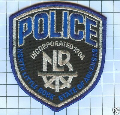 Police Patch  - Arkansas - NORTH LITTLE ROCK