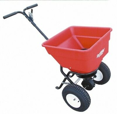Made in USA 100 Lb. Capacity, Polyethylene Walk Behind Broadcast Spreader 13 ...