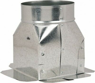 Made in USA Duct Fittings; Type: Top Ceiling Boxes; Fractional Inside Diamete...