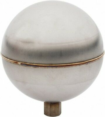 Made in USA 3-1/2 Inch Diameter, Spherical, Internal Connection, Metal Float ...