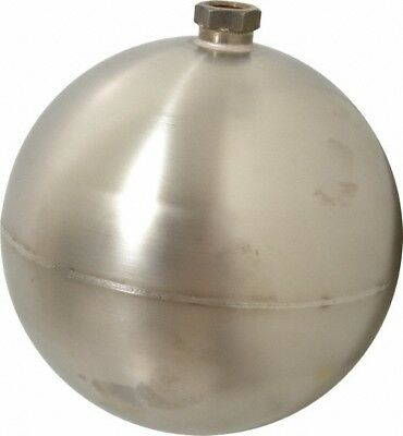 Made in USA 7 Inch Diameter, Spherical, Hex Spud Connection, Metal Float 3/8 ...