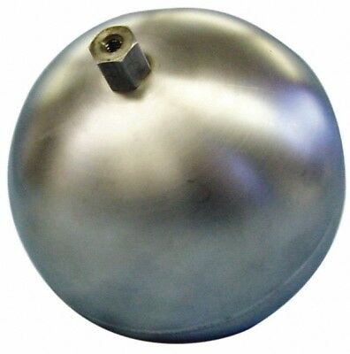 Made in USA 7 Inch Diameter, Spherical, Hex Spud Connection, Metal Float 1/4 ...