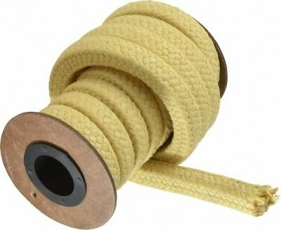 "Made in USA 1/2"" x 8' Spool Length, PTFE/Aramid Composite Compression Packing..."