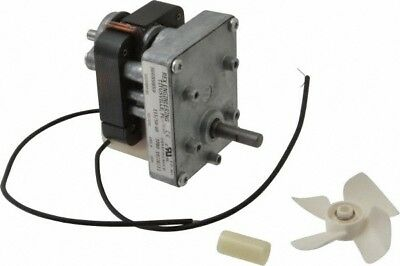 Made in USA 115 Volt, 5 RPM, 680:1 Gear Ratio, CM Gearmotor 50 Lbs/Inch Full ...