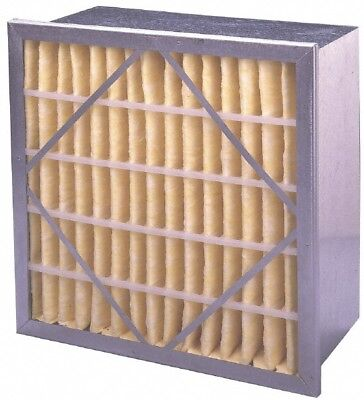 """Made in USA 24"""" Wide x 12"""" Deep Pleated Filter Polyester Synthetic, Micro Glass"""