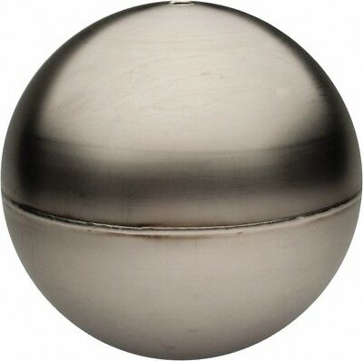 Made in USA 2 Inch Diameter, Spherical, Tubed Through Connection, Metal Float...