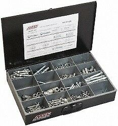 Value Collection 192 Piece, #10 to 1/2 Screw, Steel Anchor Assortment Zinc Pl...