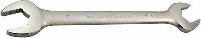"""Paramount 15/16 x 1"""" Full Polish Finish Open End Wrench 11-17/32"""" OAL, Double..."""