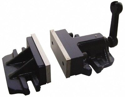 """Value Collection 6"""" Wide Jaw Stationary Machine Vise 1 Station, 13"""" OAL x 2.9..."""