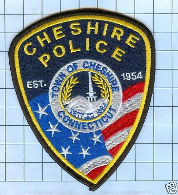 Police Patch - Connecticut - Cheshire