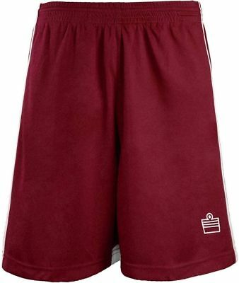 2 Soccer Running Basketball Crossfit Shorts Color Maroon White Size X Small Unis