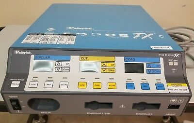 ValleyLab Force FX-c ESU Electrosurgical Unit Includes Pencil  Inv 4322