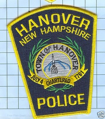Police Patch  - New Hampshire - Hanover 1761