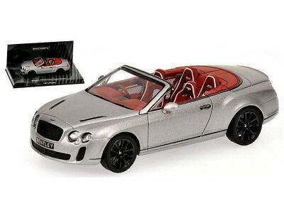wonderful modelcar BENTLEY CONTINENTAL SUPERSPORTS CONVERTIBLE 2010 - 1/43