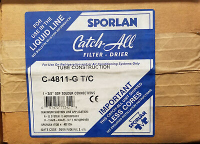~Discount HVAC~ SV-C4811G - Sporlan - Filter Drier Shell
