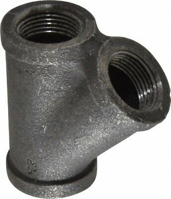 Made in USA Size 3/4, Class 150, Malleable Iron, Black Pipe 45° Lateral Y...