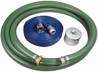 Alliance Hose & Rubber Suction and Discharge Pump Hose Kits For Use with 1-1/...