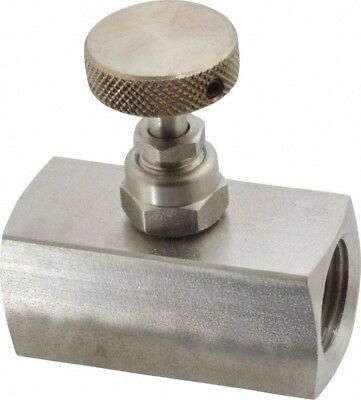 Made in USA Stainless Steel, Needle Valve 0