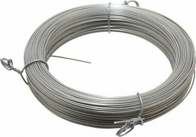 Made in USA 18 Gage, 0.041 Inch Diameter x 223 Ft. Long, 302/304 Music Wire C...