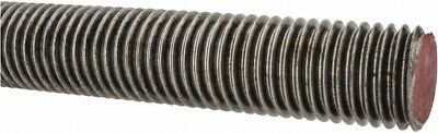 Value Collection 1-1/8-7 National Coarse, Alloy Steel Threaded Rod 3' Long