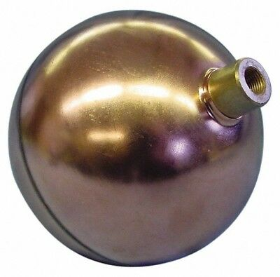 Made in USA 8 Inch Diameter, Spherical, Round Spud Connection, Metal Float 3/...