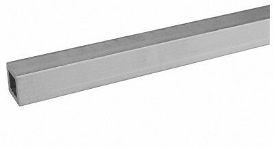Value Collection 3/4 Inch Square x 72 Inch Long, Aluminum Square Tube 1/8 Inc...