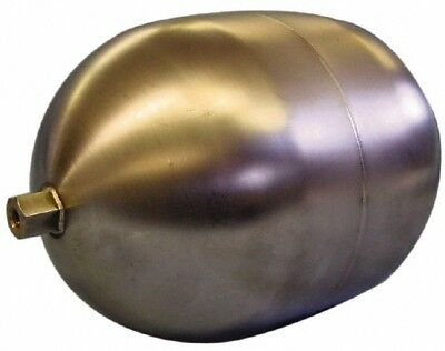 Made in USA 5 Inch Diameter x 7 Inch Long, Oblong, Hex Spud Connection, Metal...