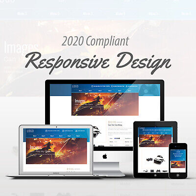 2018 Compliant Mobile Responsive Ebay Auction Listing Template Video Games