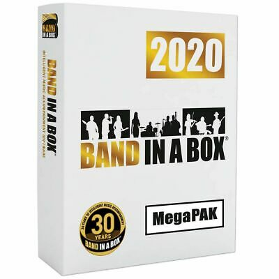 Band in a Box MegaPak 2020 Download Software PG Music Windows *New*