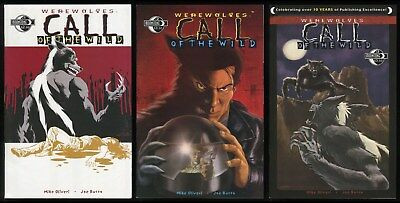 Werewolves Call of the Wild Comic Full Set 1-2-3 Lot Werewolf Lycanthrope Horror