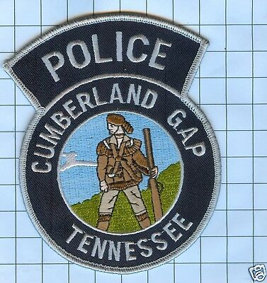 Police Patch  - Tennessee - Cumberland Gap