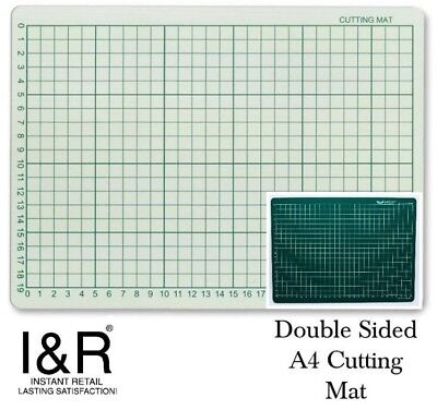 3mm Thick Craft Cutting Mat Measuring Grid Non Slip Surface A4 * 1cm Grid