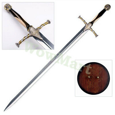 Game of Thrones 51'' Jaime Lannister's Sword Replica & Wood Display Plaque #5987