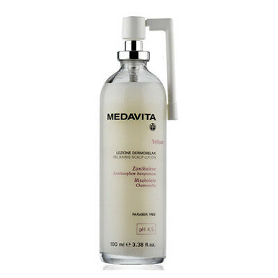MEDAVITA Velour Lozione dermorelax relaxing scalp lotion Tonic 100ml