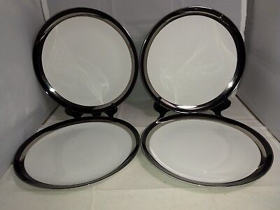 Set of 4 Sears Gemini Dinner Plates