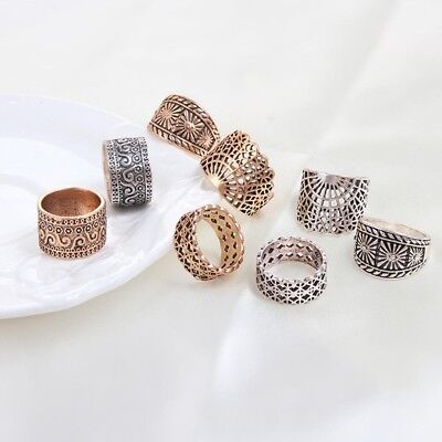 Ancient Punk Jewelry Ring Set For Wedding/Party Ring Women Jewelry Finger Ring