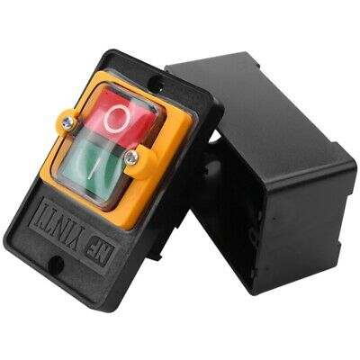 AC 220/380V On/Off Water Proof Push Button Switch KAO-5 for Drill Motor Mac H5D1